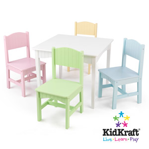 Ensemble De Table Et Chaises Nantucket KidKraft