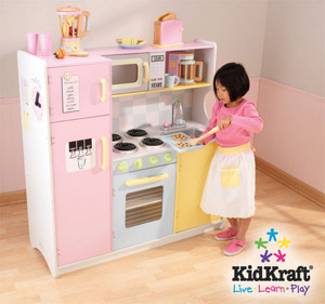 Kidkraft canada kidkraft kitchens in canada for Cuisine bois rose kidkraft