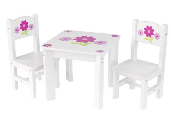 KidKraft Floral Doll Table And Chair Set