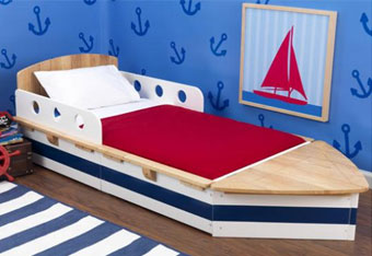 KidKraft Boat toddler bed in Canada, KidKraft item 76251