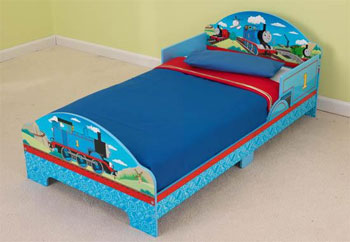 KidKraft Thomas And Friends Toddler Bed Features Include Low Enough To The Ground Allow Easy Access Fits Most Crib Mattresses