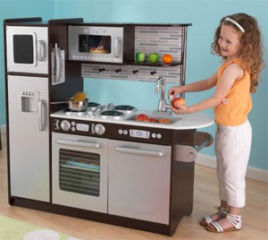 Charmant KidKraft White Vintage Kitchen Features Include: Doors Open And Close. Oven  Knobs Click And Turn. Tons Of Convenient Storage Space.