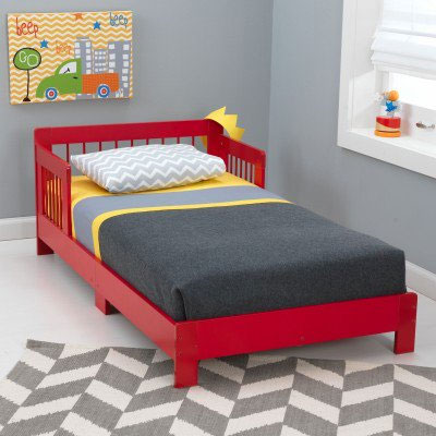 KidKraft Houston Toddler Bed Cot Features Include Low Enough To The Ground Allow Easy Access Fits Most Crib Mattresses Sturdy Wood Construction